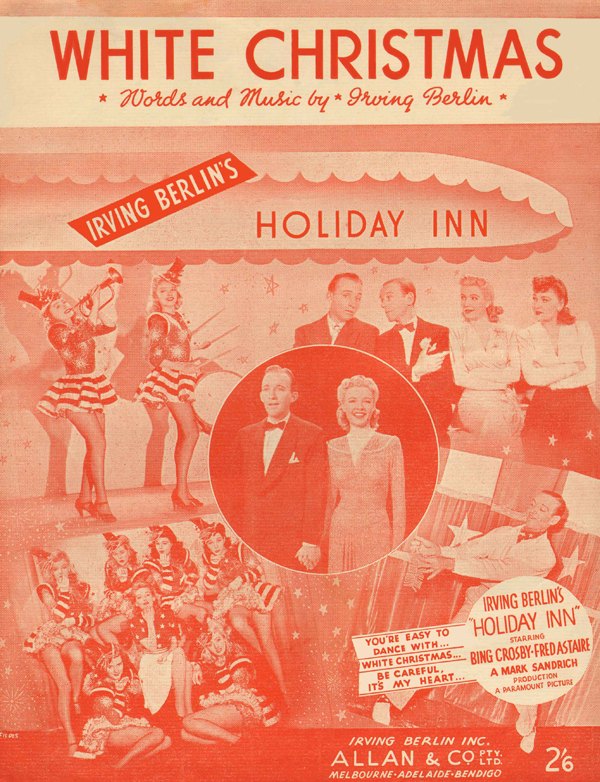 1942:<strong> White Christmas</strong> from <em>Holiday Inn </em>